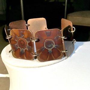 🌺Artisan Copper Link Bracelet
